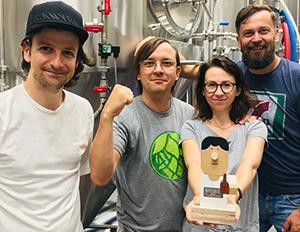 """Miniatura artykułu - Tytuł """"Best EU Brewery 2018"""" dla Trzech Kumpli!"""