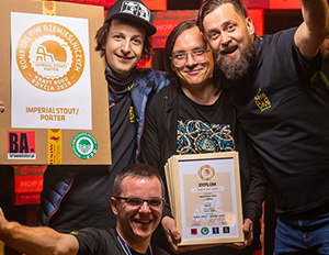 Miniatura artykułu - 10 medali podczas XIII Konkursu Piw Rzemieślniczych Kraft Roku 2019