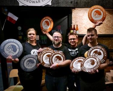 Miniatura artykułu - Piwa rzemieślnicze Trzech Kumpli zgarnęły 10 medali wKPR