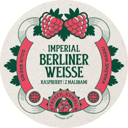Etykieta - Imperial Berliner Weisse zmalinami