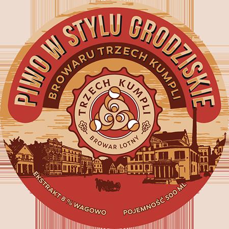 Etykieta - Piwo wstylu Grodziskie