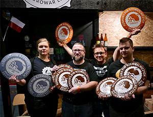 Miniatura artykułu - Piwa rzemieślnicze Trzech Kumpli zgarnęły 10 medali wKPR 2018